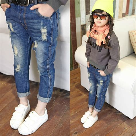 boys  girls fashion casual pants cotton trousers