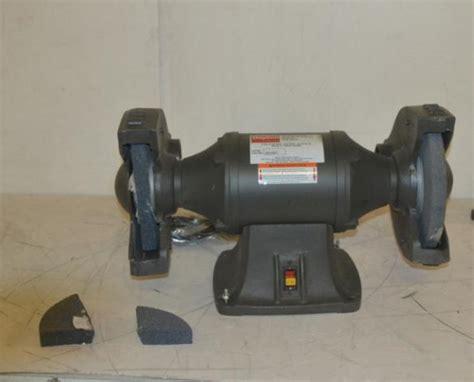 dayton bench grinder dayton bench grinder 10 in 1hp 115v 10a 2lkt2 ebay