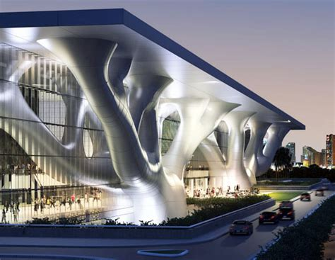 National Modification Center Llc by Qatar National Convention Center Doha Qatar Phase 1 And