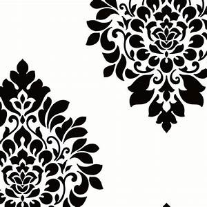 Dimensional Damask Wallpaper