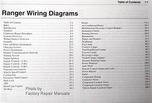 2002 Ford Ranger Electrical Wiring Diagrams Original