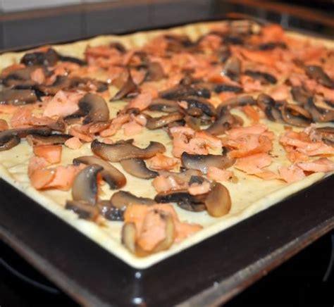 pate a pizza au oeuf pizza quiche au saumon les recettes de la cuisine de asmaa