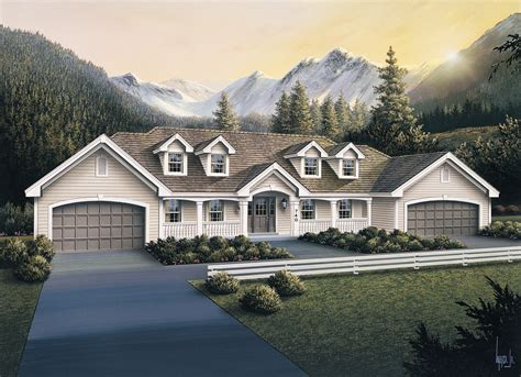 Multi-Unit House Plan #138-1105: 3 Bedrm, 3484 Sq Ft Per