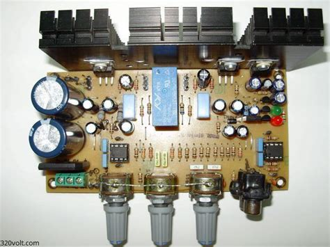 compact stereo amplifier project electronics projects