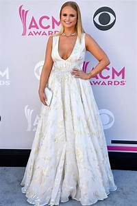 miranda lambert39s red carpet look at the acm awards is With miranda lambert wedding dress