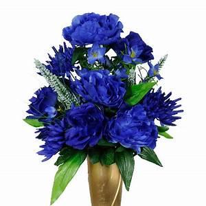 Mausoleum Dark blue rose peony mix (MA1411)