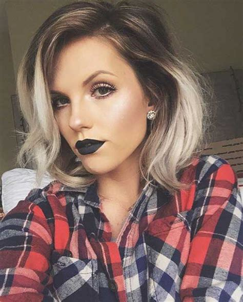 Balayage hair is one of many hairstyles people choose to follow. 20+ Ombre Hair Color For Short Hair | Short Hairstyles ...