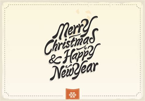 merry christmas happy new year vintage vector download free vector art stock graphics images