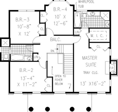 center colonial floor plans historic 19th century colonial floor plan historic