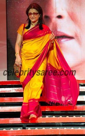 aparna sen  yellow silk saree saree blouse patterns