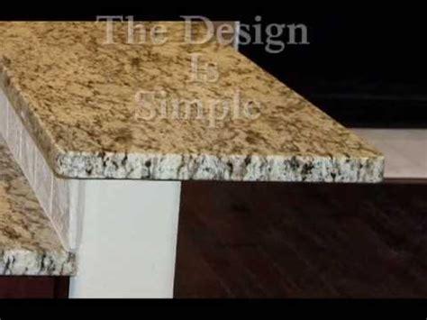 flat or eased granite edge