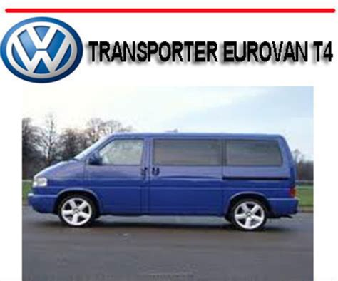 download car manuals pdf free 1994 volkswagen eurovan lane departure warning volkswagen vw transporter eurovan t4 2 5l repair manual download