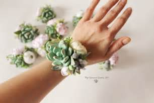 where to buy corsage and boutonniere succulent corsage bracelet wedding flowers groom boutonniere
