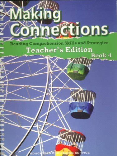 Librarika Making Connections Reading Comprehension Skills And Strategies, Book 2