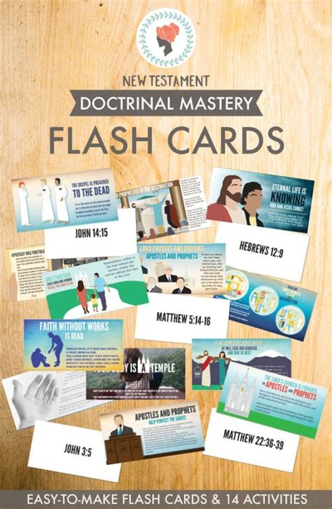 New Testament Doctrinal Mastery  Flashcards So Easy To