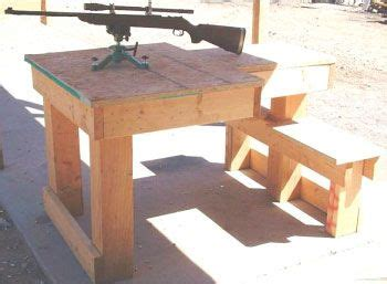 shooting bench plans woodworking projects plans