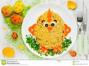 Idee Repas De Paques : id e cr ative d 39 art de nourriture sur la partie de repas de p ques pour des enfants photo stock ~ Melissatoandfro.com Idées de Décoration
