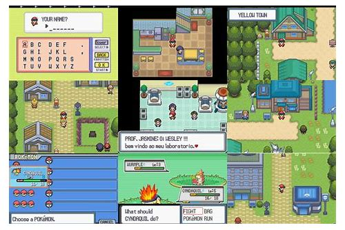 pokemon light platinum rom link para baixar android