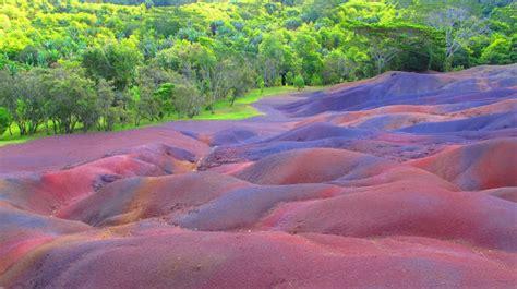 colors earth mauritius beautiful  unusual