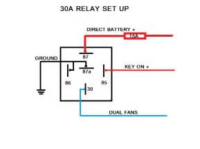 similiar electrical relay keywords electric fan relay wiring diagram 0l tech 72915 does anyone have