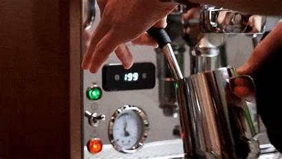 Steam Milk Steaming Purge Coffee Give Drip