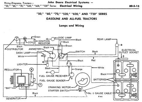 John Deere Wiring Diagram Yesterday Tractors