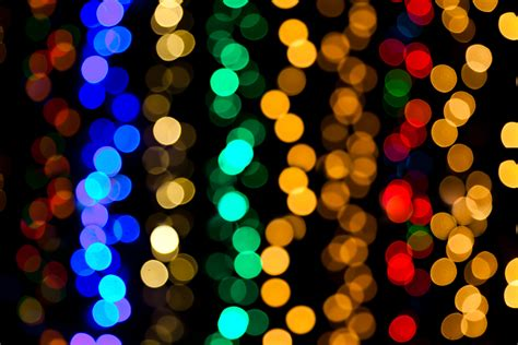 colorful lights wallpaper colorful lights blurred lights bokeh 5k