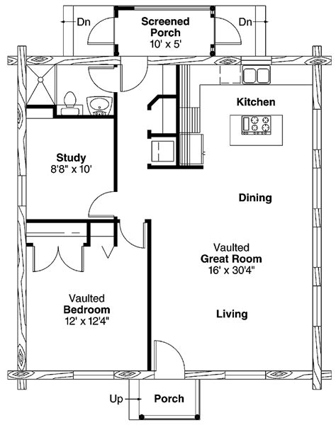 simple  bedroom house plans home plans homepw
