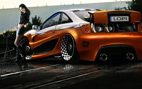 toyota celica tuning new car modification