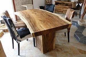 Tisch aus einem baumstamm der tischonkel for Tisch aus baumstamm