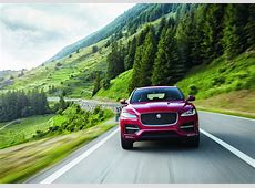 Jaguar FPace SVR Might Get The FType's 575 PS V8 Carscoops