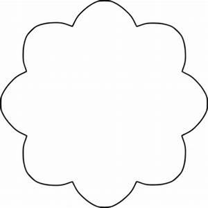 Flower Shape Clip Art - ClipArt Best