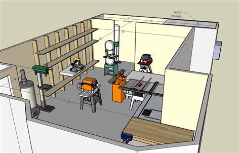 woodwork small woodworking shop floor plans  plans