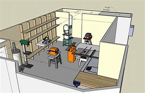 Woodshop Layout Plans Diy Small Wood Desk - House Plans
