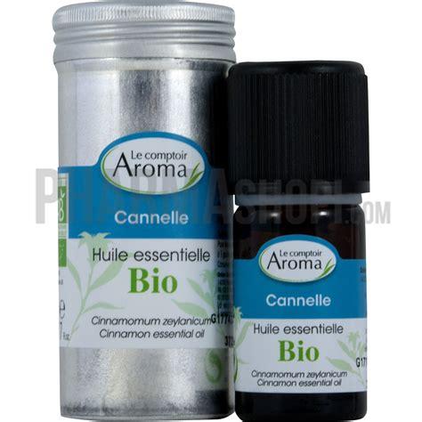 huile essentielle de cannelle le comptoir aroma flacon de