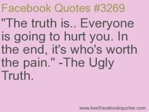 facing the truth hurts quotes