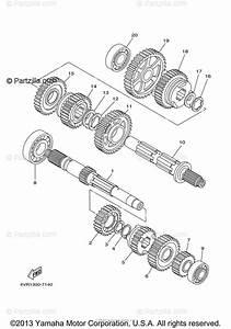 Yamaha Motorcycle 2000 Oem Parts Diagram For Transmission