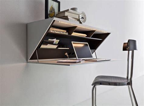 idees de bureaux suspendus le meuble tres pratique