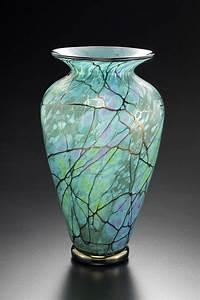 Serenity Vase by David Lindsay (Art Glass Vase) Artful Home