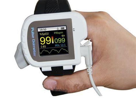 Digital Wrist Pulse Oximeter Spo2 Monitor Finger Probe