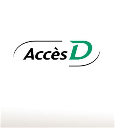 bureau com démonstration du service accèsd