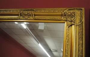 Spiegel Mit Facettenschliff : grosser spiegel wandspiegel farbe gold mit facettenschliff 120 x 200 cm kaufen bei manfred ~ Frokenaadalensverden.com Haus und Dekorationen