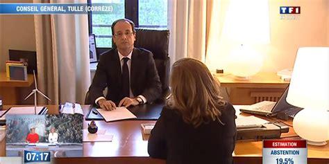 bureau conseil dans le bureau de hollande quelques minutes avant