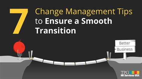 change management tips  ensure  smooth company transition