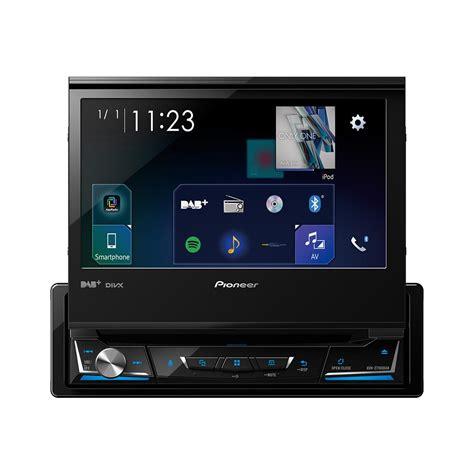 pioneer avh z7000dab pioneer avh z7000dab din motorized screen with dab carplay andriod