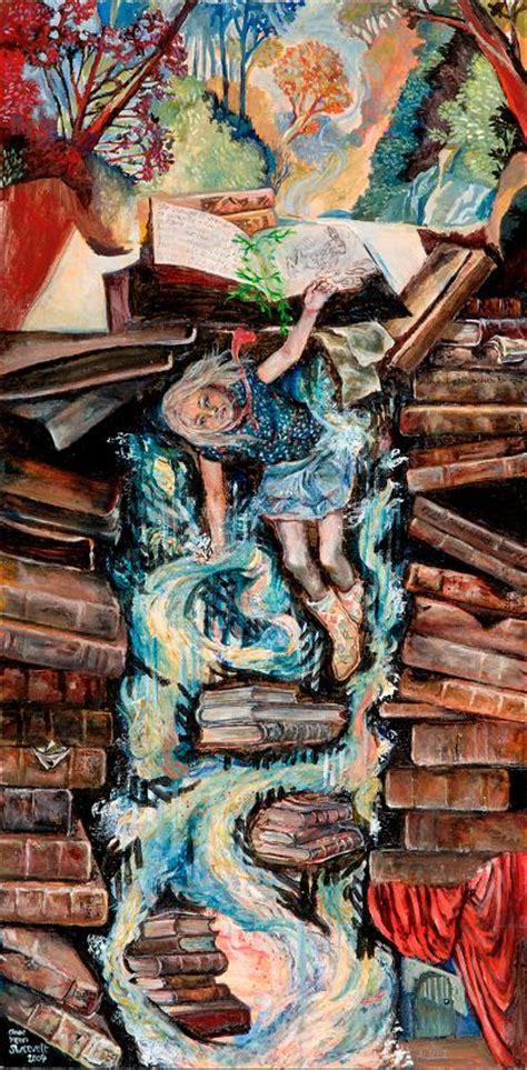 rabbit hole  anne vansweevelt paintings