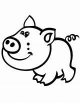 Pig Coloring Cartoon Cerdo Printable Pigs Sonriendo Cartoons Dibujos Cliparts Colorear Sheets Dibujosonline Categorias Imprimir Pintar sketch template