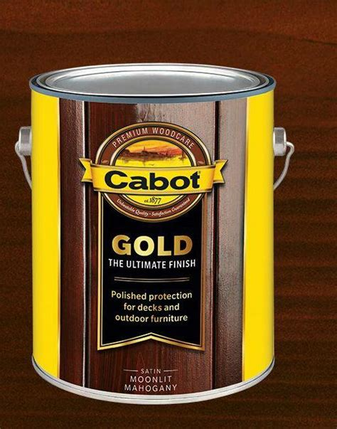 cabot  gold moonlit mahogany exterior wood stain