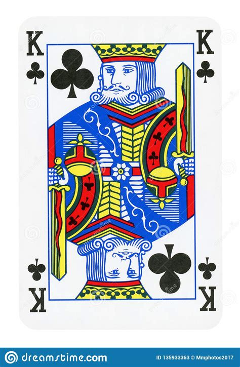 You are constantly dealing with multiple forms of harassment. King Of Clubs Playing Card - Isolated On White Stock Image - Image of card, included: 135933363