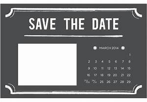 4 printable diy save the date templates With free email save the date templates